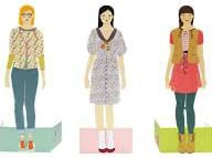 Dress Up Paper Dolls - Djeco